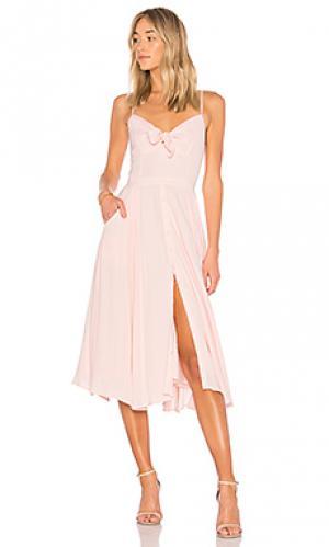 Платье миди pretty woman Yumi Kim. Цвет: розовый