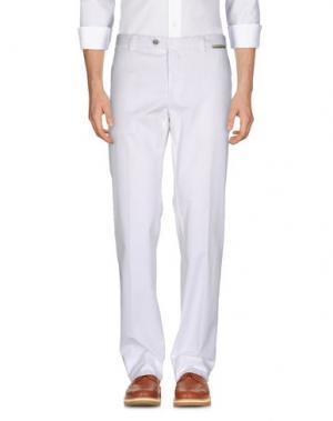 Повседневные брюки GERMANO. Цвет: белый