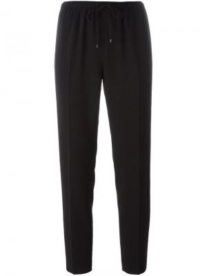 Зауженные брюки Alexander Wang. Цвет: чёрный