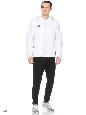 Спортивный костюм Adidas. Цвет: белый, черный