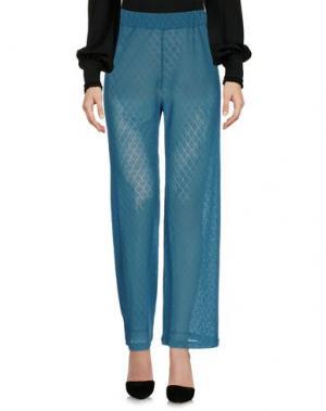 Повседневные брюки PRISM. Цвет: цвет морской волны