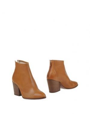 Полусапоги и высокие ботинки ELIANA BUCCI. Цвет: верблюжий