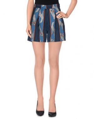 Повседневные шорты EMMA COOK. Цвет: темно-синий