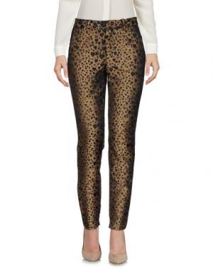 Повседневные брюки SISTER JANE. Цвет: хаки