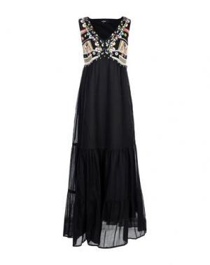 Длинное платье NIZA. Цвет: черный