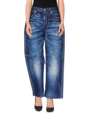 Повседневные брюки JUNYA WATANABE COMME des GARÇONS. Цвет: синий