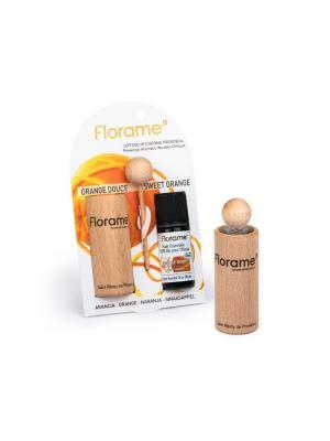 Florame Диффузер Провансальский + Апельсин Сладкий. Эфирное Масло (10Мл). Цвет: коричневый, прозрачный