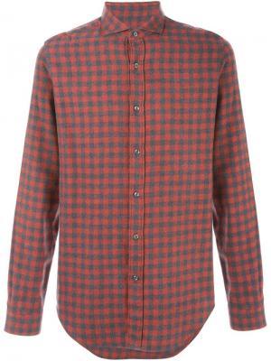 Рубашки Vangher. Цвет: красный