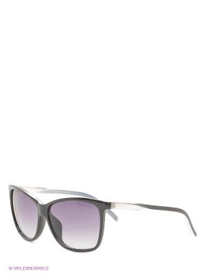 Солнцезащитные очки. Bijoux Land. Цвет: черный, серый