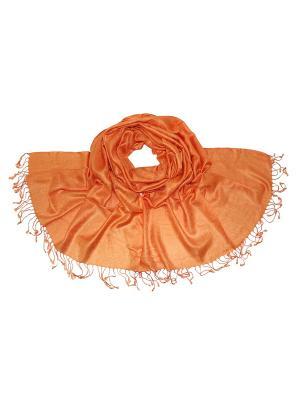 Палантин Ethnica. Цвет: оранжевый