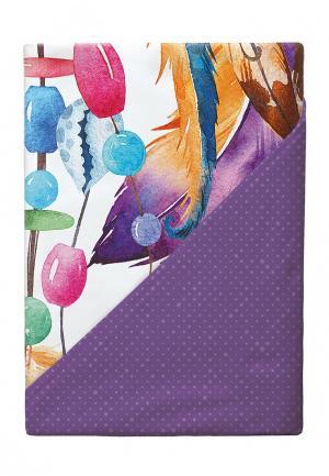 Комплект постельного белья 2-спальный Verossa. Цвет: фиолетовый