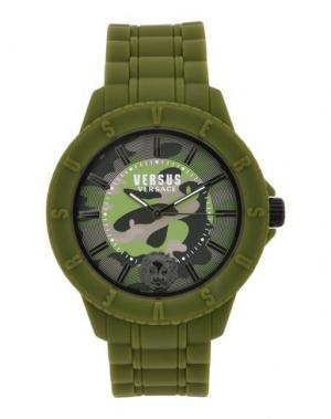 Наручные часы VERSUS VERSACE. Цвет: зеленый-милитари