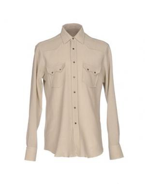 Pубашка VANGHER N.7. Цвет: бежевый