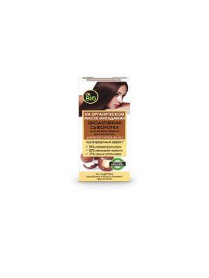 Сыворотка для всех типов волос биоакт. 50 МАК Dr. BIO. Цвет: белый, оранжевый
