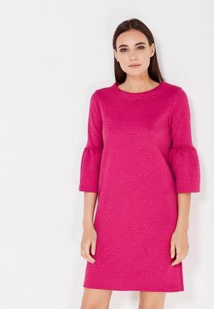 Платье Cortefiel. Цвет: фуксия
