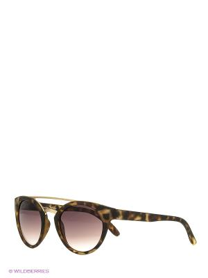 Солнцезащитные очки Franco Sordelli. Цвет: коричневый