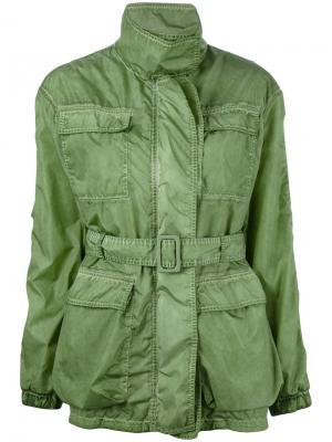 Водоотталкивающая куртка Tomas Maier. Цвет: зелёный