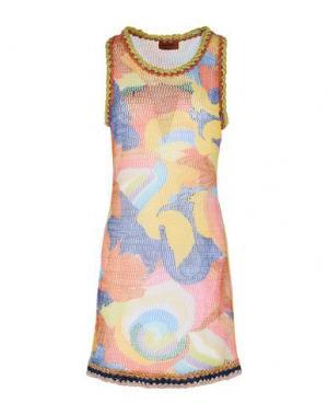 Пляжное платье MISSONI MARE. Цвет: желтый