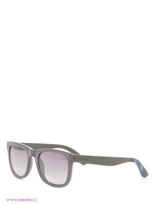 Солнцезащитные очки Tommy Hilfiger. Цвет: серый