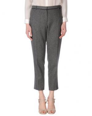 Повседневные брюки NICOLE FARHI. Цвет: стальной серый