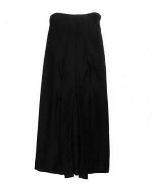 Короткое платье AND RE WALKER. Цвет: черный