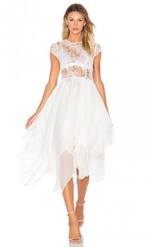 Платье ballerina blanc Bronx and Banco. Цвет: белый