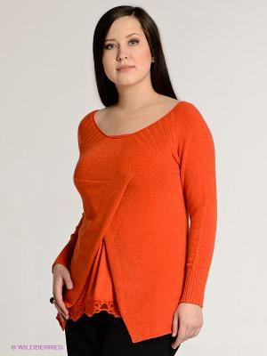 Твинсет SISTE'S. Цвет: оранжевый