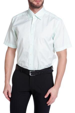 Рубашка, короткий рукав Christian Lacroix. Цвет: бледно-салатовый