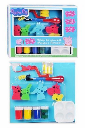 Набор для малышей Peppa Pig. Цвет: голубой