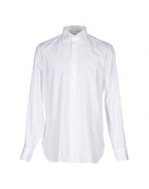 Pубашка BOSTON BROTHERS. Цвет: белый