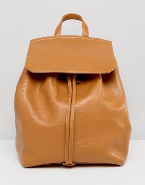 Matt & nat Объемный рюкзак. Цвет: рыжий