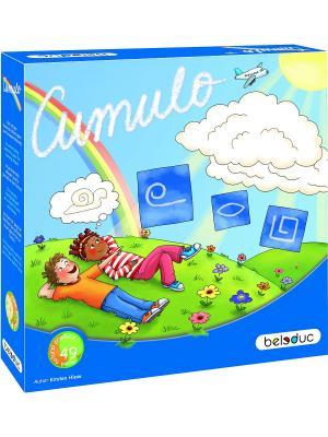 Развивающая игра Кумуло Beleduc. Цвет: светло-голубой