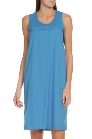 Платье EUROPEAN CULTURE. Цвет: темно-голубой