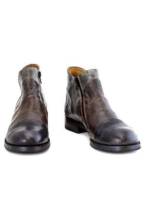 Ботинки Alexander Hotto. Цвет: серый