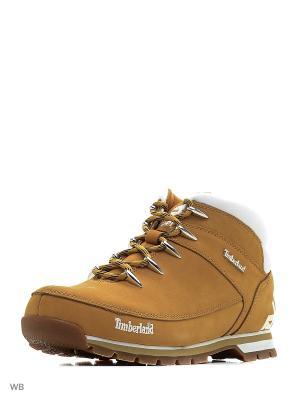 Ботинки TIMBERLAND. Цвет: бежевый