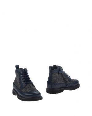 Полусапоги и высокие ботинки JARRETT. Цвет: темно-синий
