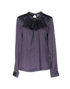 Блузка GUGLIELMINOTTI. Цвет: фиолетовый