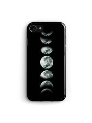 Чехол для iPhone 7/8 Луна Boom Case. Цвет: черный, серый