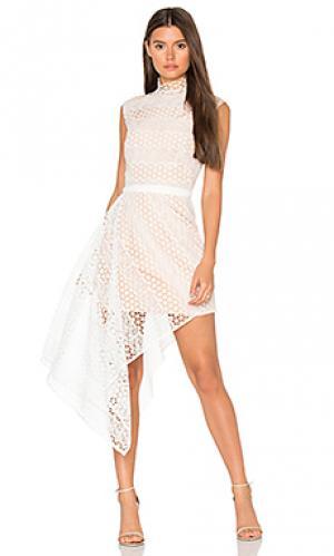 Платье aleita Acler. Цвет: ivory