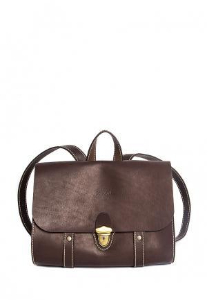 Рюкзак Handsel. Цвет: коричневый