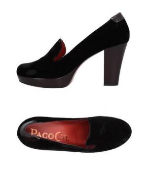 Мокасины PACO GIL. Цвет: черный