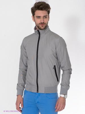 Куртка Fred Mello. Цвет: серый