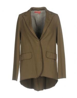 Пиджак MANILA GRACE DENIM. Цвет: зеленый-милитари