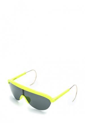 Очки солнцезащитные Polaroid. Цвет: желтый