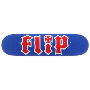 Дека для скейтборда  S5 Team Hkd Rwb Blue 32.31 x 8.25 (21 см) Flip. Цвет: красный,синий,белый