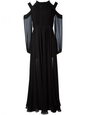 Платье Hess La Mania. Цвет: чёрный