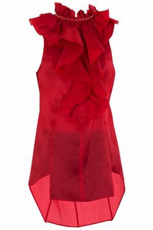 Блуза Thomas Wylde. Цвет: красный
