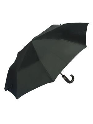 Зонт складной M&P C2740-OC Wood Black. Цвет: черный