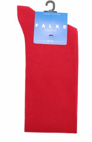 Трикотажные гольфы Falke. Цвет: бордовый