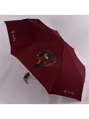 Зонт Airton. Цвет: темно-бордовый